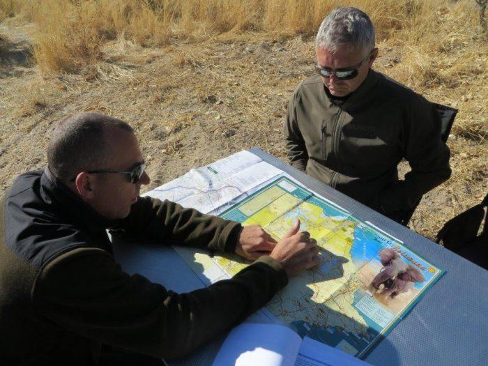Kees en Eric plannen een nieuwe route
