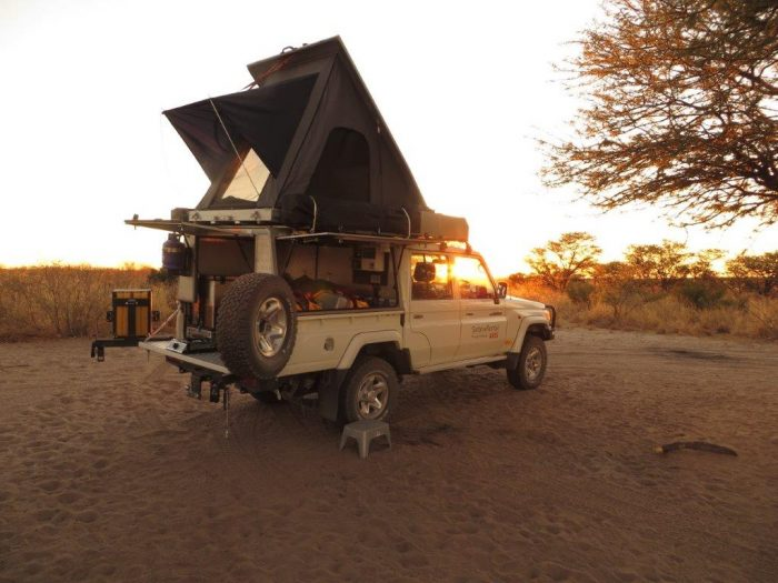 kamperen Botswana