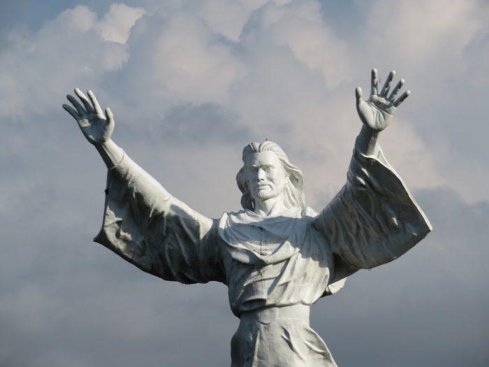 Jezusbeeld in Manado