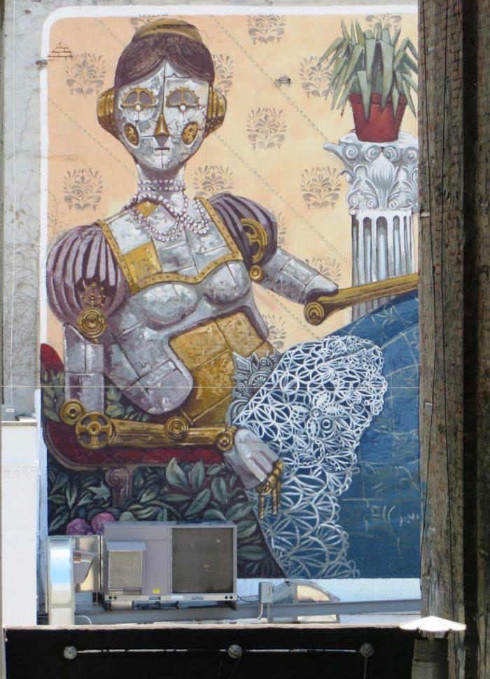 muurschildering New York