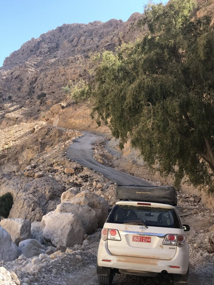 route door Eastern Hajar Mountains
