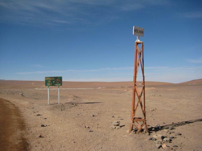 grensovergang Bolivia Chili