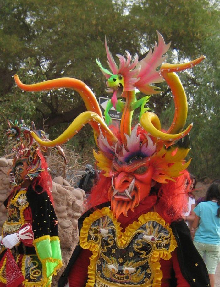 Kleurrijke maskers