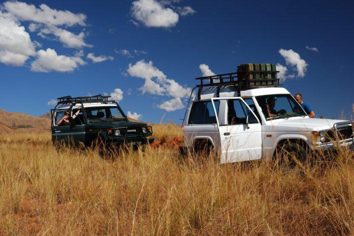 onze auto's in Madagaskar