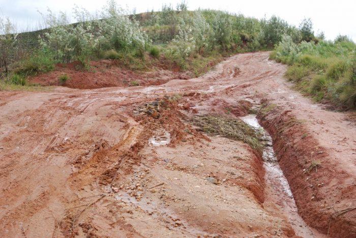 slechte weg Madagascar