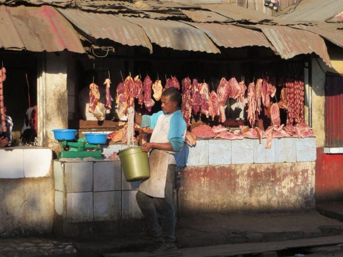 Afrikaanse slagerij