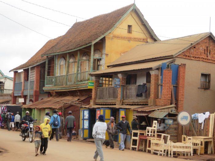 dorpje Madagaskar