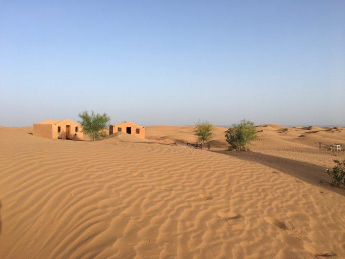 mooi overnachten Marokko: La Dune Blanche