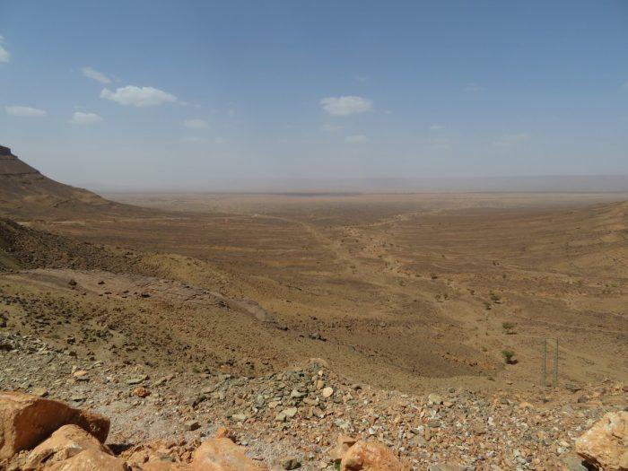 weidse uitzichten in Marokko