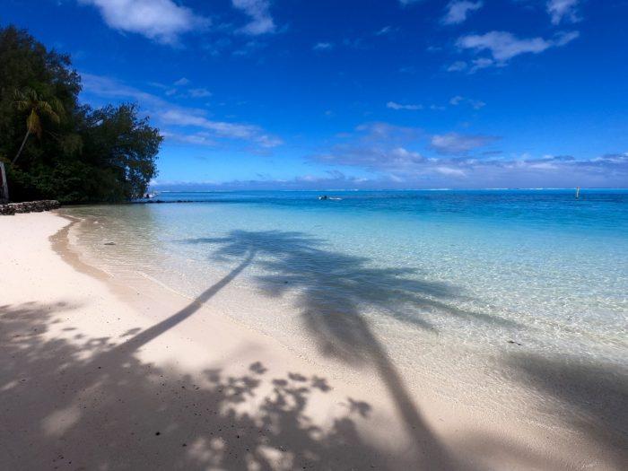 Frans-Polynesië: Moorea strand
