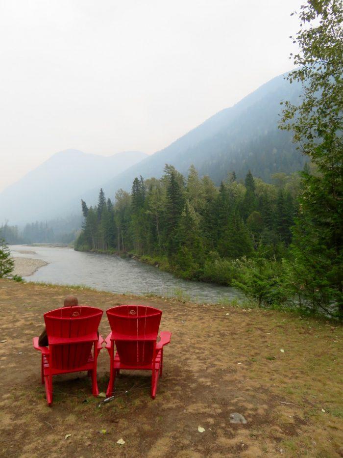 camper British Columbia Canada