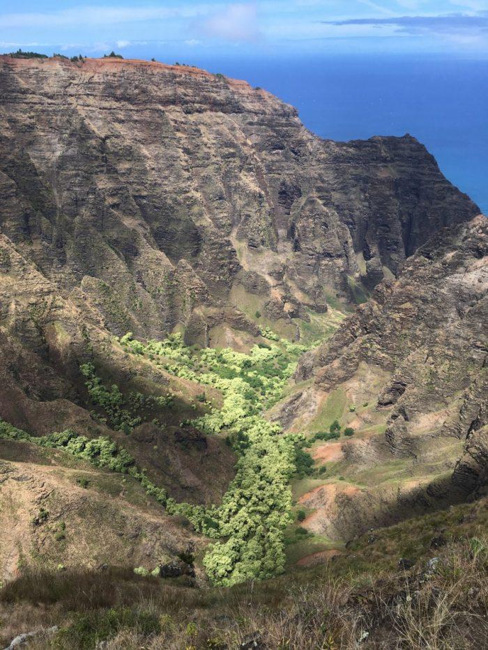 Kloof in kauai