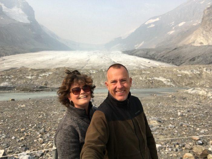 Athabasca gletsjer