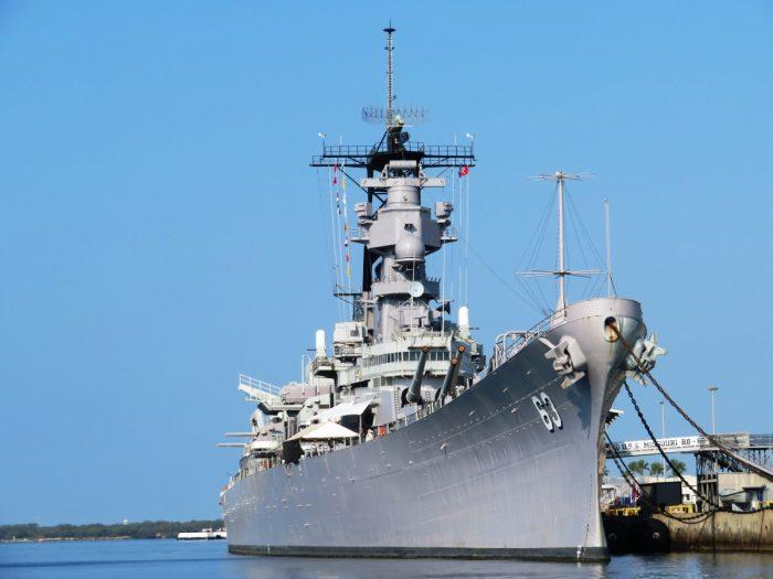 pearl Harbor oorlogsschip