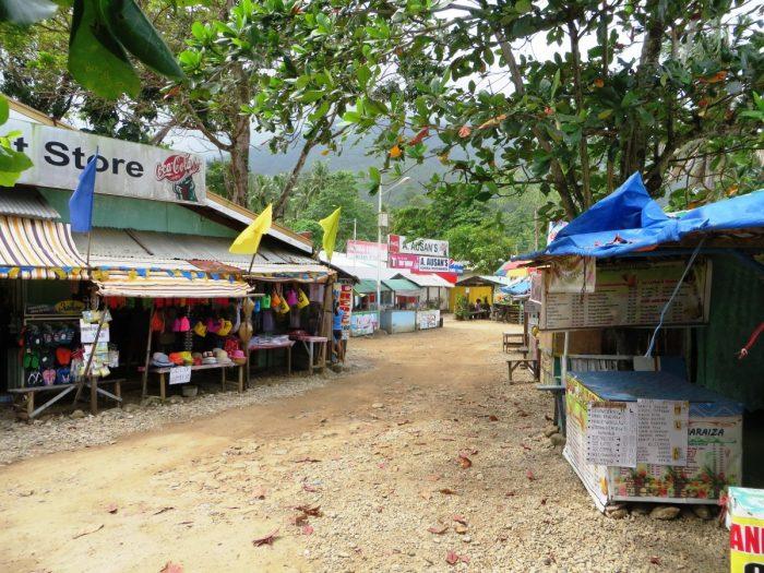 het dorpje Sabang