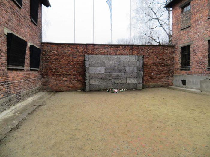 executiemuur Auschwitz