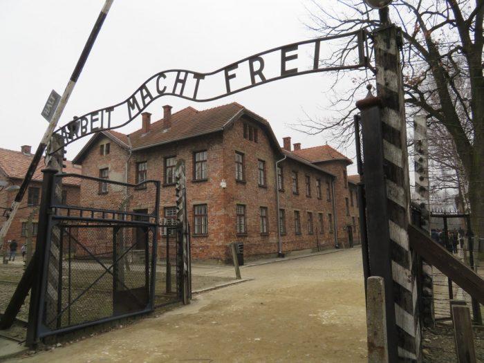 poort naar Auschwitz