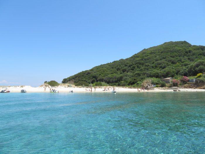 strand marathonisi island, Zakynthos