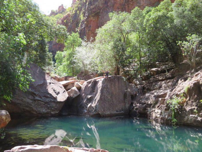Emma Gorge waterpoel