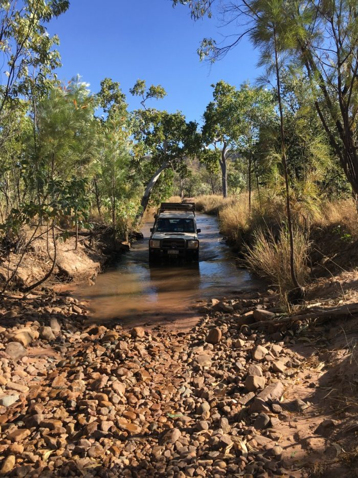 Rivercrossing bij el Questro