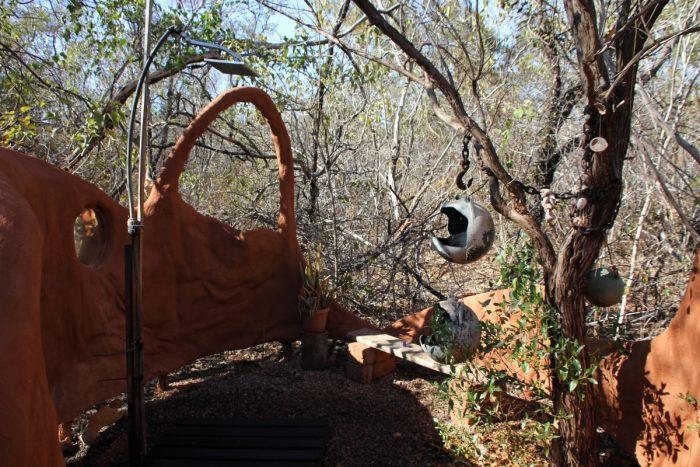 badkamer camping Whalesong