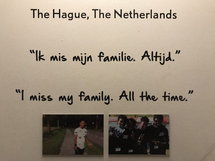 Humanity House familie missen