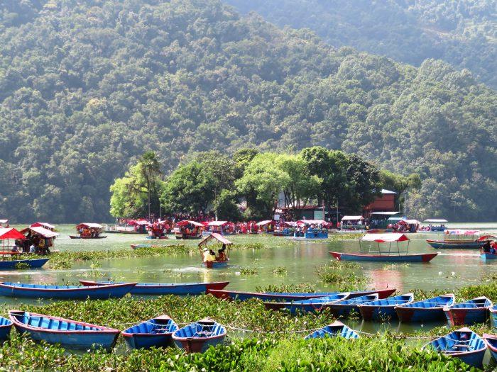 Fewa meer Pokhara