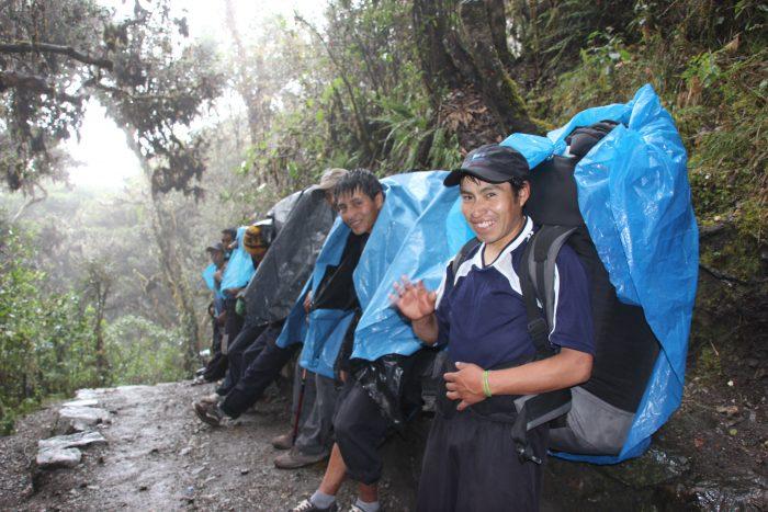 porters route Peru