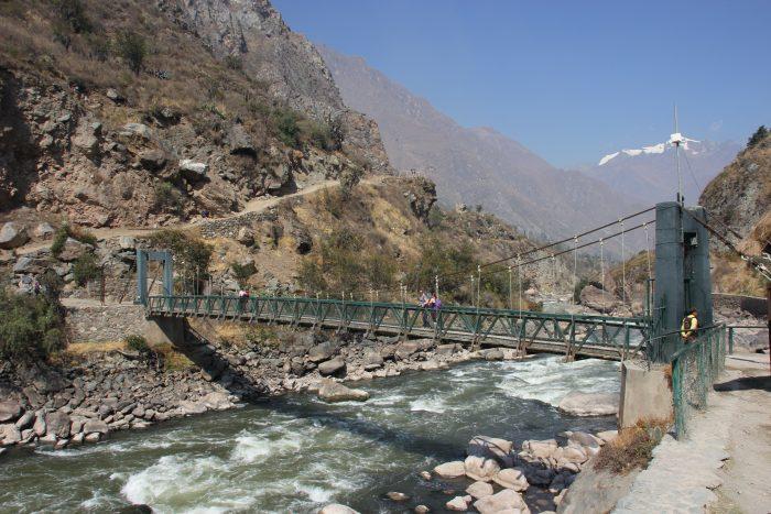 start incatrail route Peru