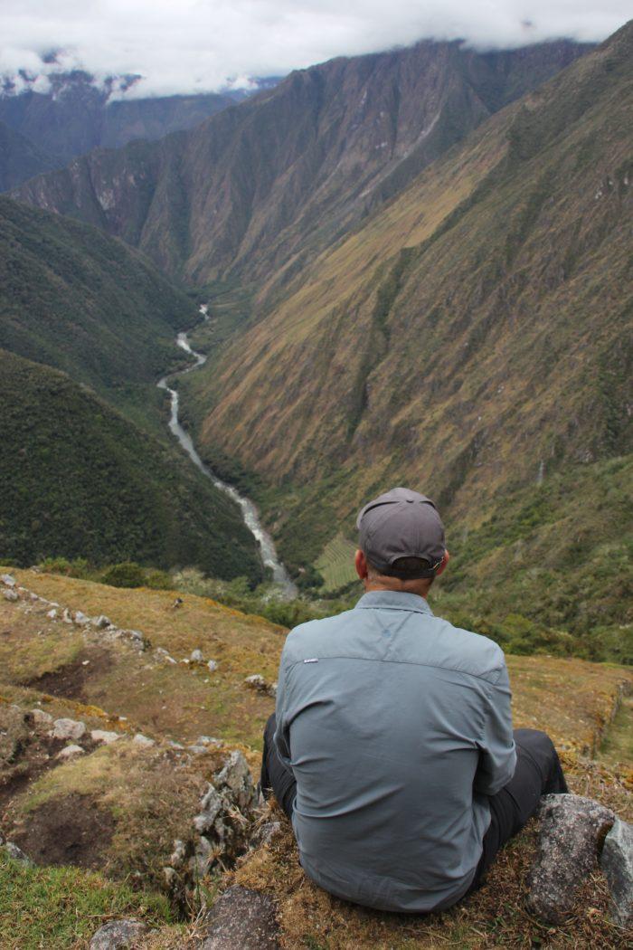 uitzicht inca trail