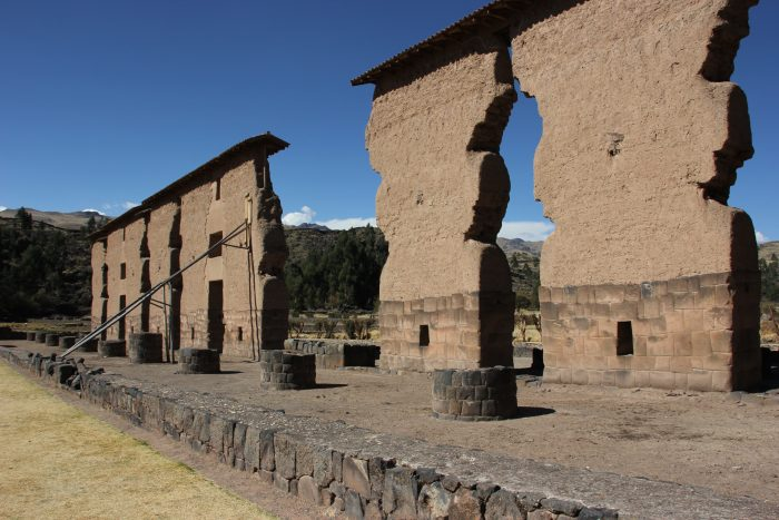 Inca-ruïnes Raqchi