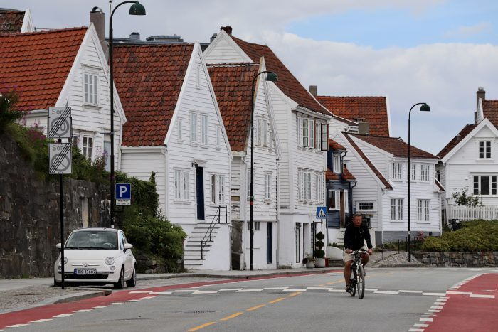 witte huizen Stavanger