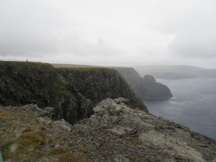 Kliffen Noordkaap