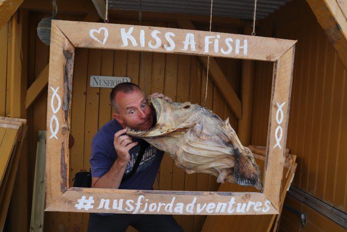 Kus een vis