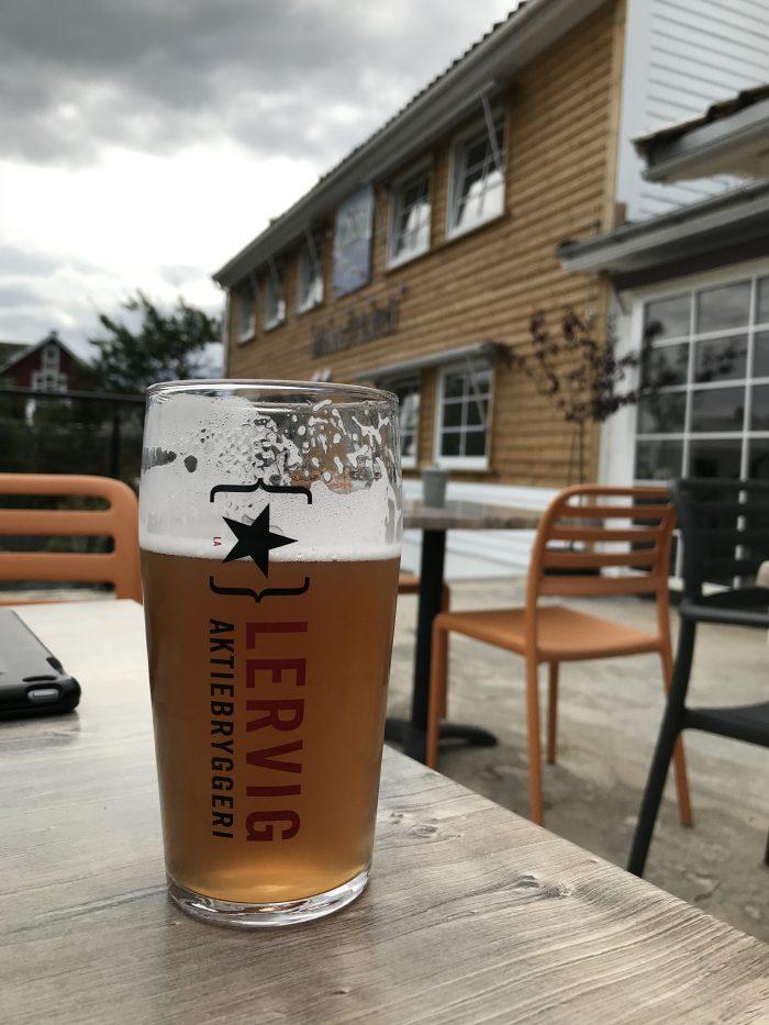 biertje in Noorwegen