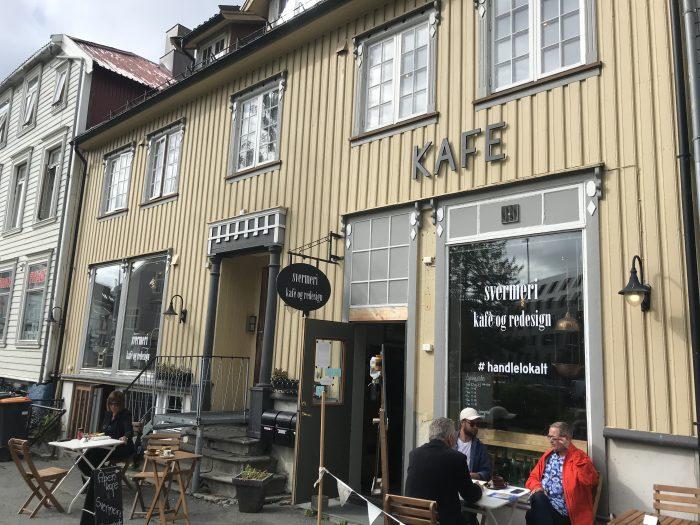 Svermeri Kafé og Redesign