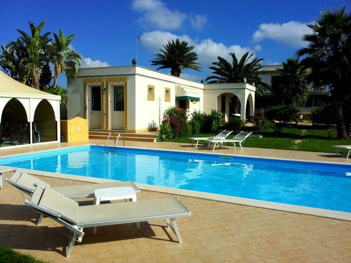 villa Sogno zwembad
