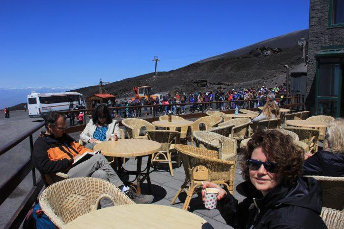 bergstation Etna