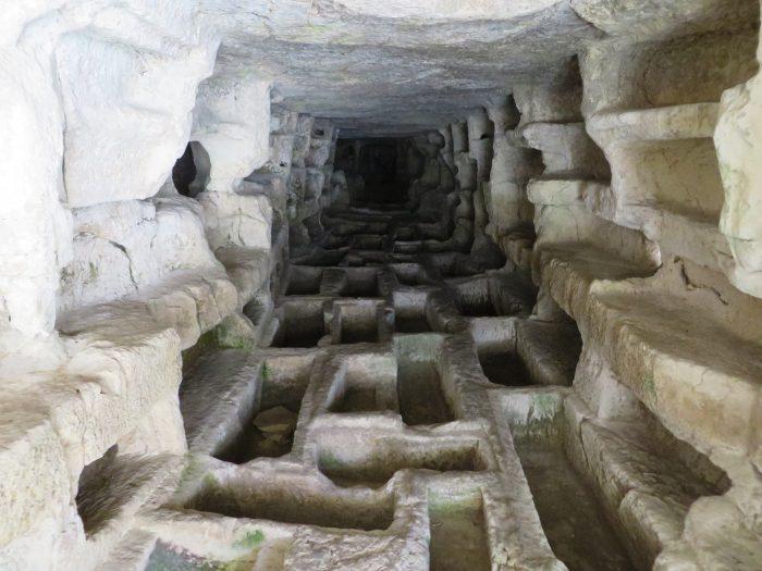 catacomben in cava d'Ispica