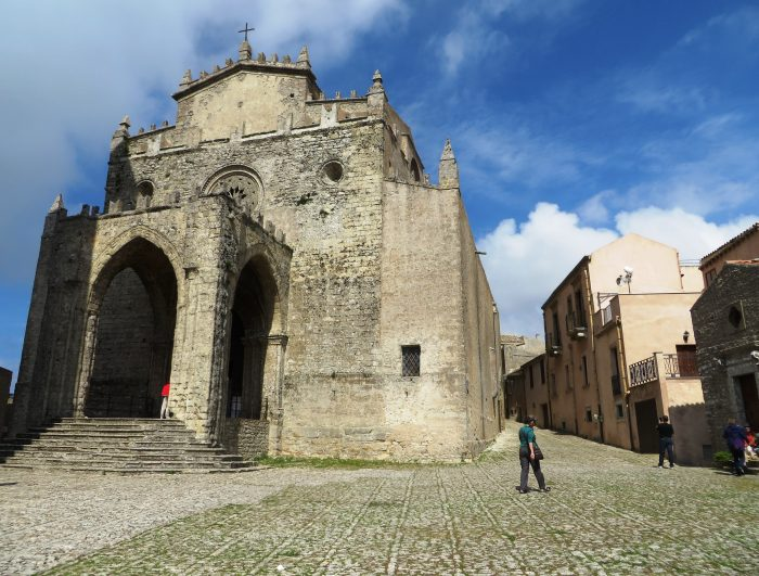 Erice, middeleeuwse stad
