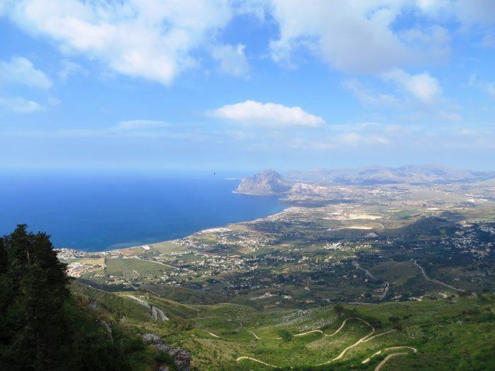 uitzicht vanaf Monte Erice