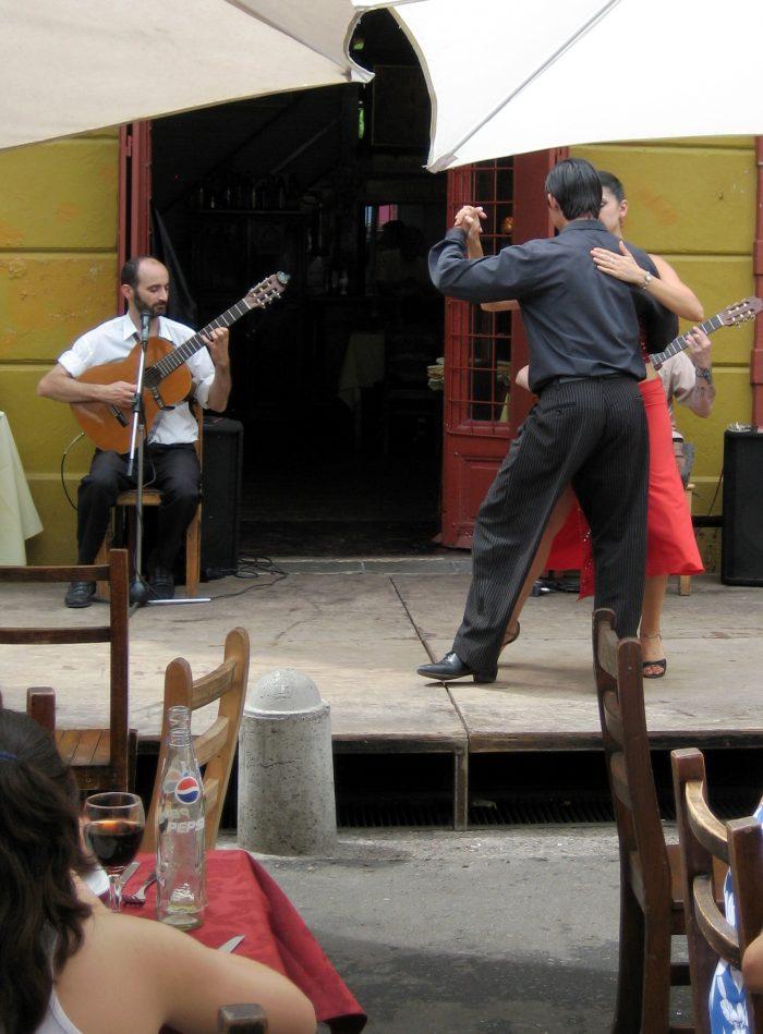 Tango dansen Buenos Aires
