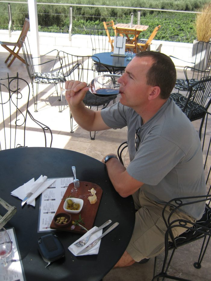 wijnproeven bij Mendoza