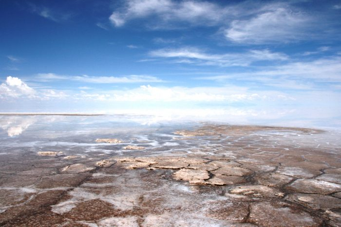 zoutvlakte van Bolivia