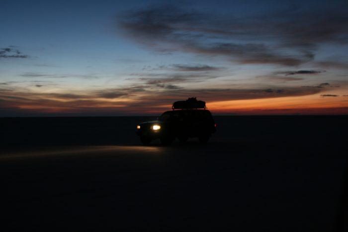 zonsopkomst zoutvlakte bolivia