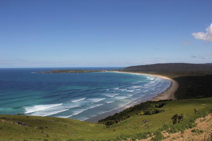 zuidelijk kust Nieuw Zeeland