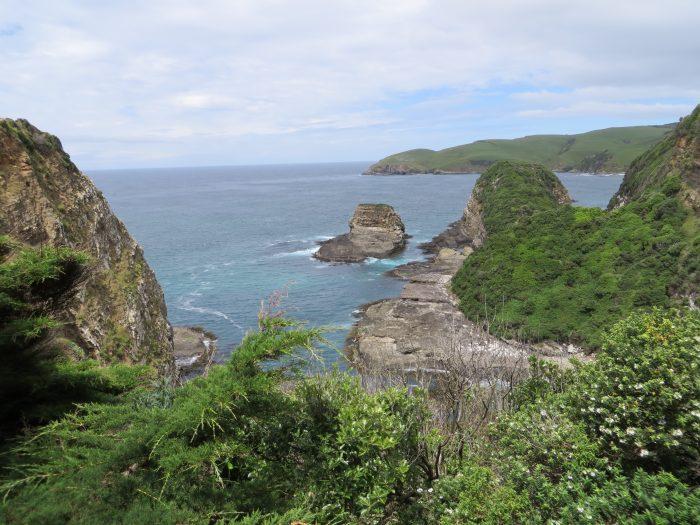 route Nieuw-Zeeland