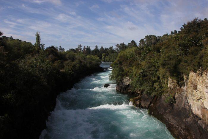 Huka Falls rondreis Nieuw-Zeeland Noordereiland