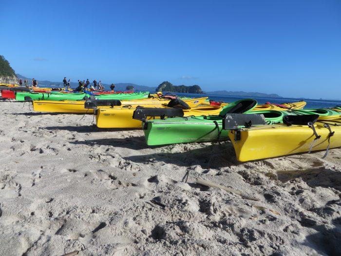 kayak tour Nieuw Zeeland