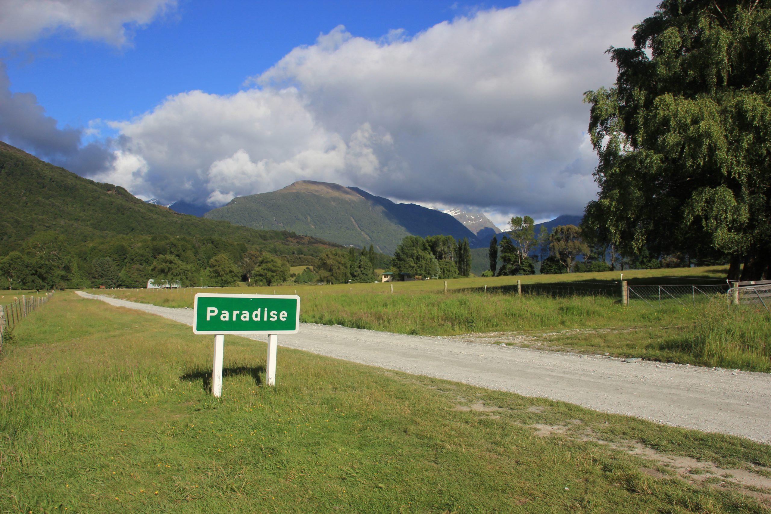 Paradise route Nieuw-Zeeland